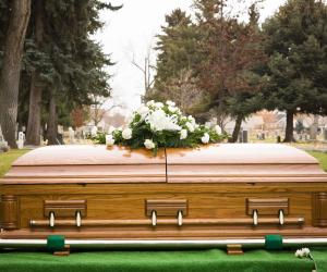 What is a befitting burial?