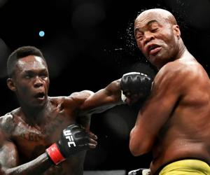 Israel Adesanya is officially the striking god of the UFC!