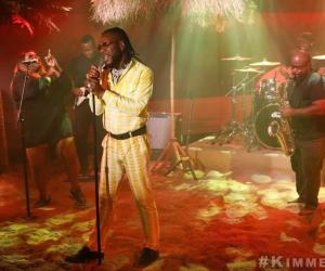 "🎬: Burna Boy - Performs ""Anybody"", on Jimmy Kimmel Live"