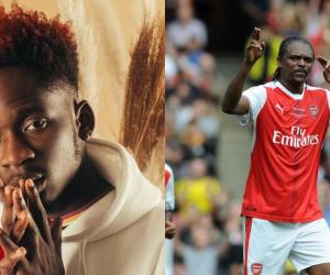 🎬: Mr Eazi Links up with Arsenal young gunz