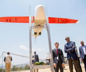 🎬: In Rwanda, His Drones Are Saving Lives