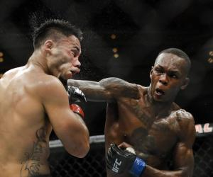 Nigerian Fighter Israel Adesanya is arguably the best striker in the UFC