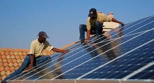 Solar installation in RSA
